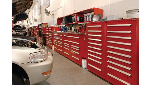 Automotive Technician's Center (ATC) modular storage