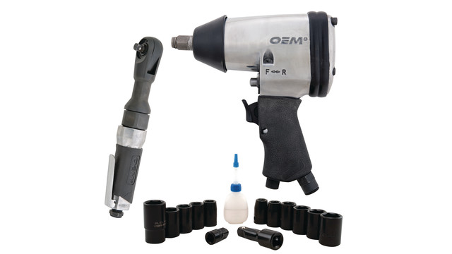 OEM's 19-piece Air Tool Kit