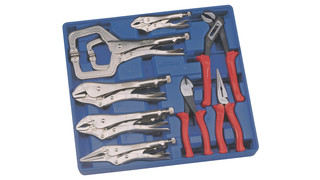 12-piece set of locking pliers No. CP-5312