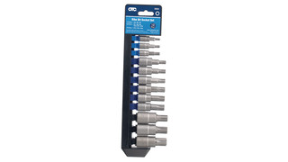 RIBE bit socket set No. 5904 and TORX PLUS bit socket set No. 5905