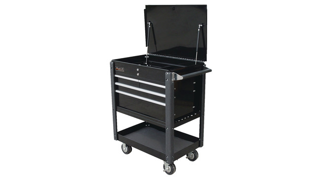 35 four-drawer service cart
