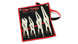4-Piece Locking Hose Clamp Pliers Set No. HC4SET