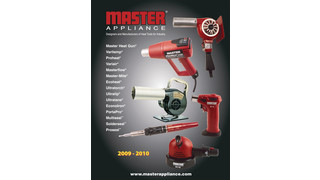 Master Appliance Full Line Product Catalog