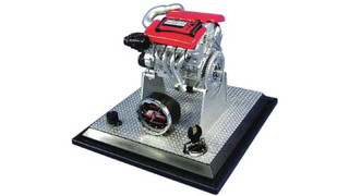 Glo-mad Corvette LS7 Engine Desk Clock
