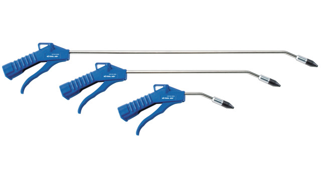 Long Reach Angled Nozzle Blow Gun