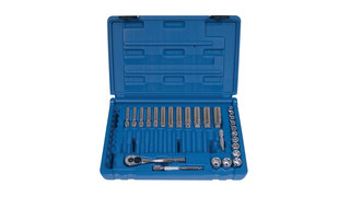 27-piece 1/4-Drive 6-point Metric Super Set, No. TS027MSS