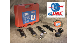 EZ Line Laser Wheel Alignment Tool