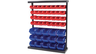 Bin storage rack, No. W5193