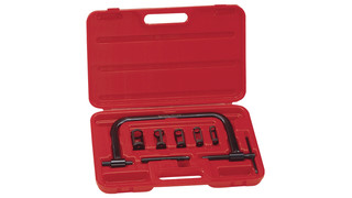 Eight-piece Valve Spring Compressor Set, No. AT-09