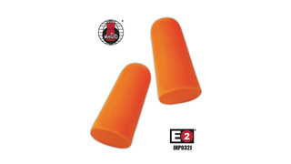 E2 Jumbo Disposable Earplugs, Nos. IHP932J and IHP932CJ