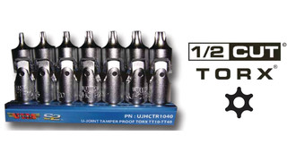 Swivel Torx set, No. UJHCTR1040