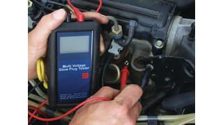 Multi-Voltage Glow Plug Tester