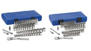 Maxx six-point chrome socket sets