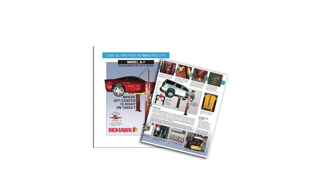 Mohawk A-7 lift brochure