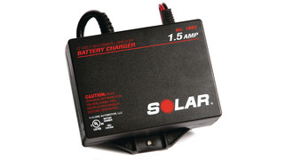 SOLAR 1002 1.5 Amp Underhood 12 Volt Automatic Battery Charger