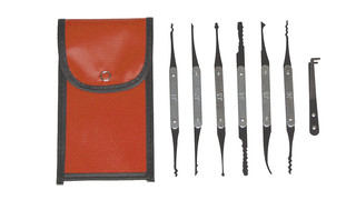European and Asian Automotive Lock Pick Set, No. LT-320