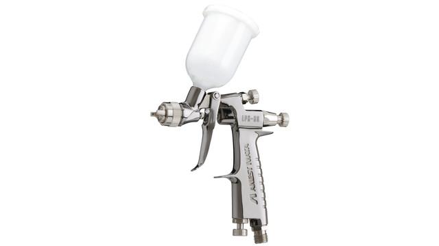 HVLP miniature center post spray gun, No. LPH80