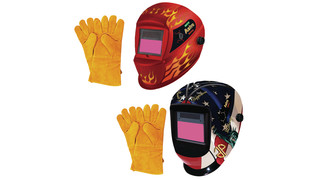 Deluxe Solar Auto-Darkening Welding Helmets
