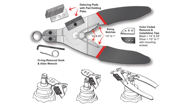 SRP 101Pro Snap Ring Pliers
