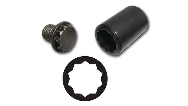 10-point Mistubishi/Dodge socket, No. V10PT