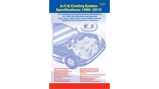 A/C Cooling System Specifications Reference Manual