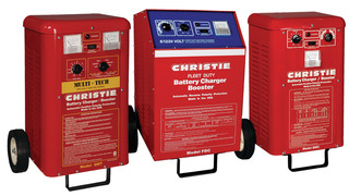 In Focus: Christie battery chargers