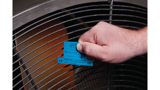 Fan guard safety scale