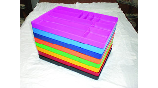 10 Compartment Organizational Tray