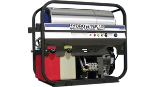 Hot Water skid pressure washers