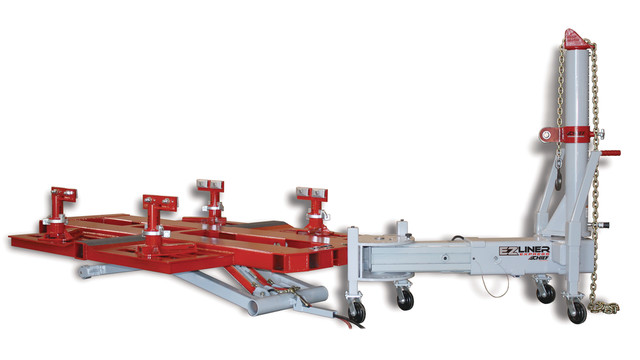 EZ Liner Express collision repair system