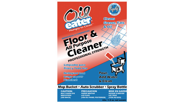 Oil Eater Floor & All-Purpose Cleaner pouches