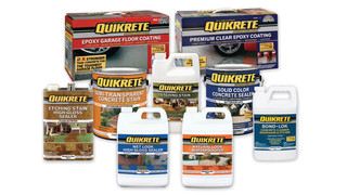 QUIKRETE epoxy coating