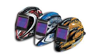 Vision welding helmet