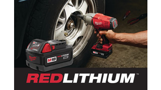 REDLITHIUM batteries for cordless tools