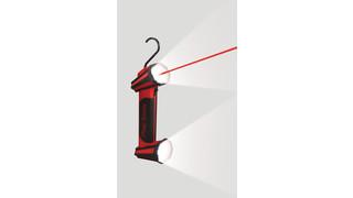 Cordless double-barrel light, No. TLL2004