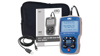 Trilingual OBDII, CAN & ABS Scan Tool, No. 3111