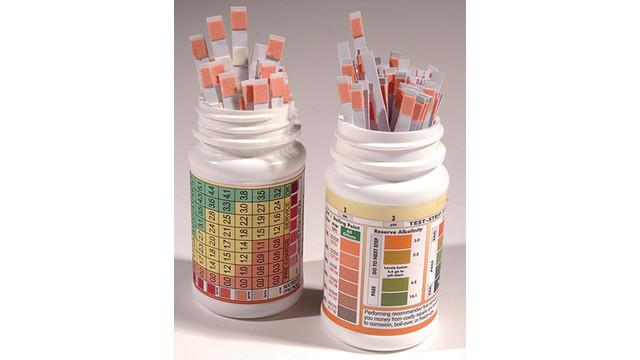 Antifreeze/Coolant diagnostics dip strips