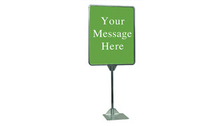 Table Top Metal Sign Holder