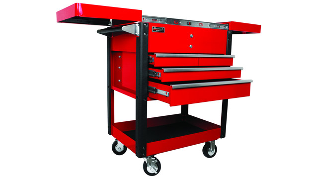 35 Pro Series Slide-Top Service Cart