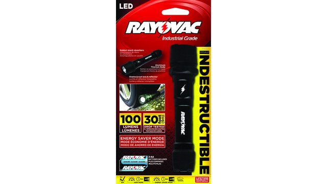 In Focus: Rayovac Indestructible 2AA Flashlight