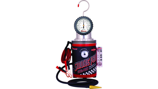 Nitrogen-compatible Smoke Pro smoke machine leak detector