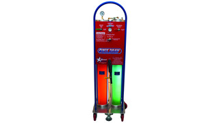 QwikDraw series Speed Draw Coolant Flush and Exchange Machine