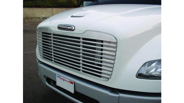 Freightliner M2 aluminum grill