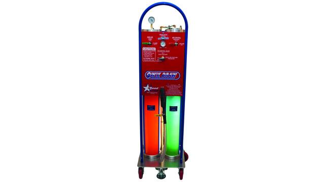 QwikDraw series Speed Draw Coolant Flush and Exchange Machine