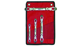 LW700 Metric Ratcheting Flex Head Wrench Set