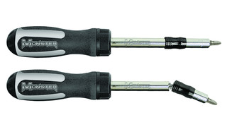 Ratcheting Swivel Screwdriver, No. MSTSRS10