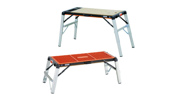 2-in-1 Workbench Table/Scaffold No. 55600