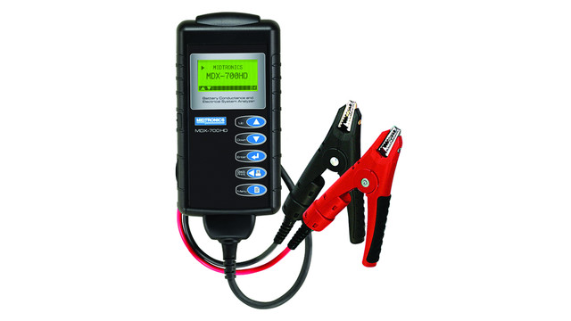 MDX-700 HD Battery Conductance and Electric System Analyzer