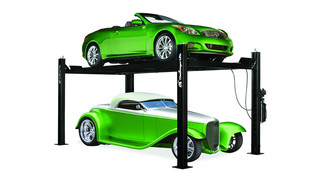 CL3P9X and CL3P9W Four-Post Car Lifts