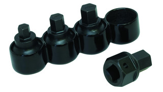Dual Drive Stubby Metric Hex Bit Set, No. 69000